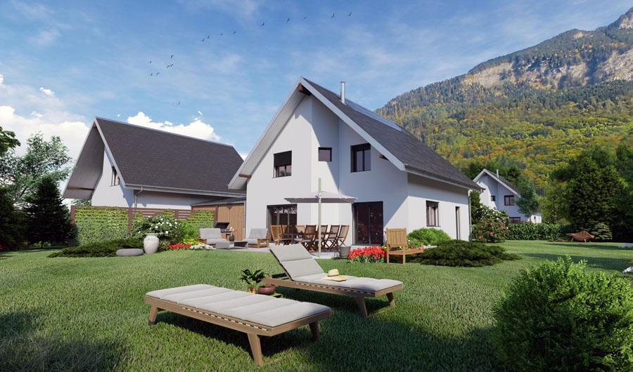 Prologis — Projet à vendre — Maison individuelle à Bex — Vaud