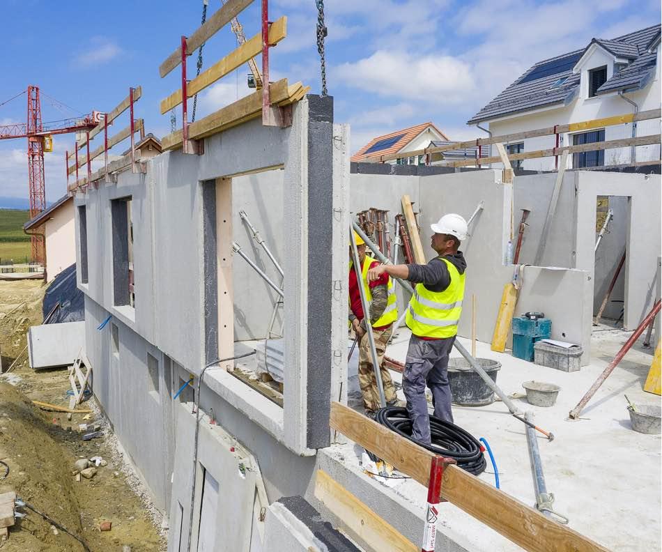 Prologis — Notre service de construction de villas — Des matériaux et des hommes