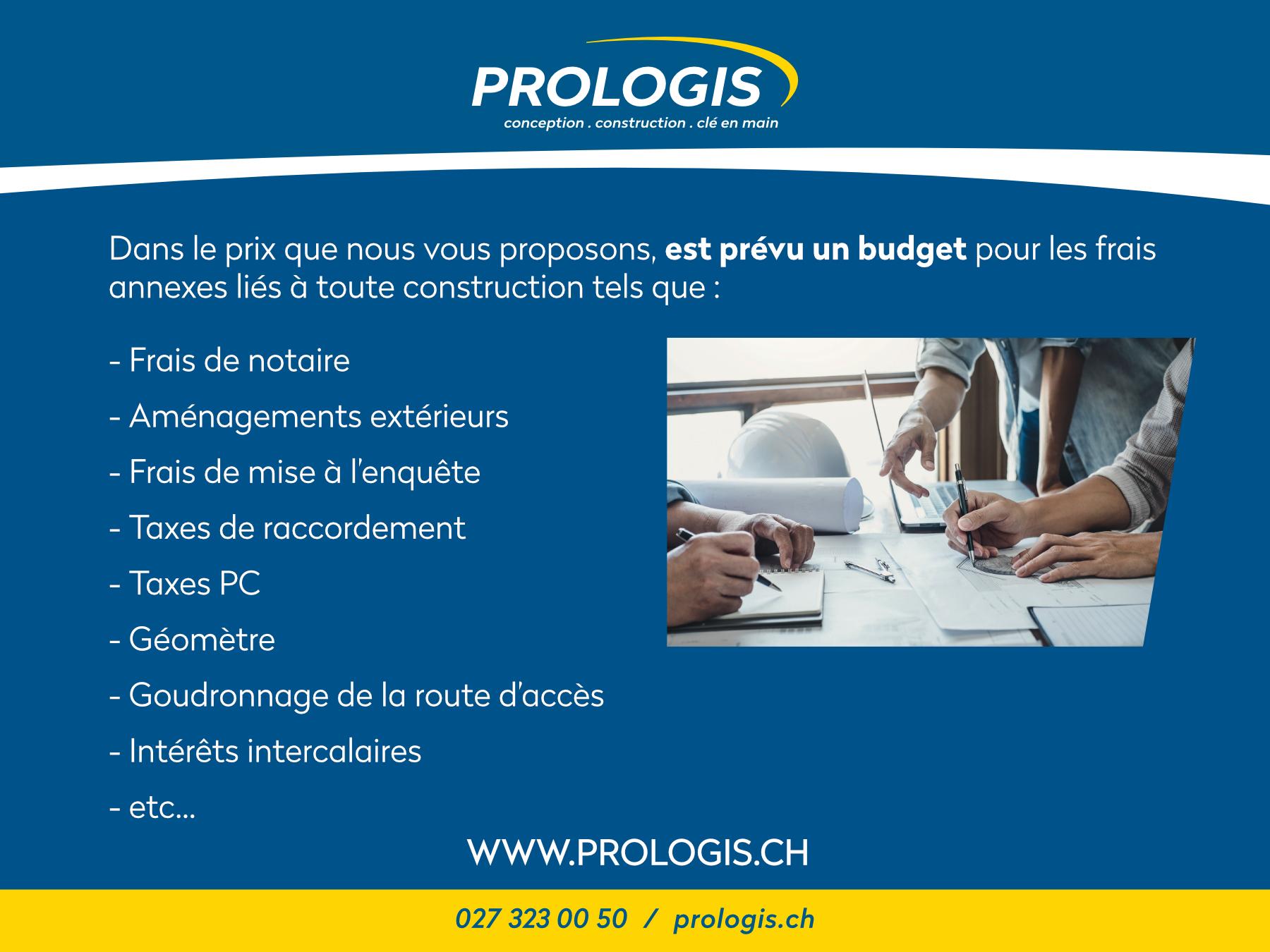 Prologis — Projet à vendre — Maison individuelle à Ardon — Valais
